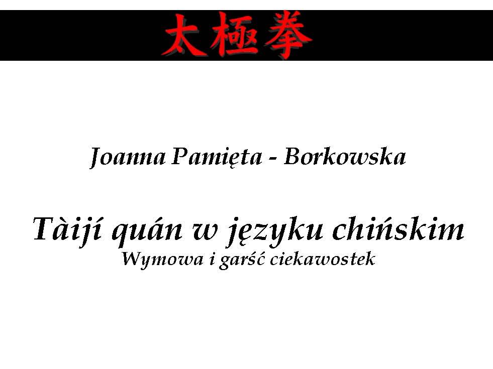 Ciekawostki natemat języka chińskiego -Joanna Pamięta-Borkowska_Page_01