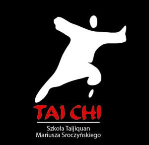 Czarne logo TAICHIzpełną nazwą Szkoły