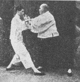 Pchające Dłonie Yang Cheng Fu